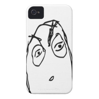 Misstänksam komisk meme iPhone 4 Case-Mate skydd