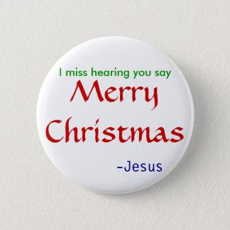 missutfrågninggod jul - runda standard knapp rund 5.7 cm