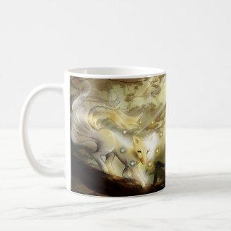 Mistic räv kaffemugg