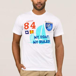 Mitt fartyg min T-tröja för regleryachtsegling T-shirt