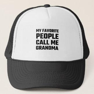 Mitt favorit- folk appell mig mormor truckerkeps