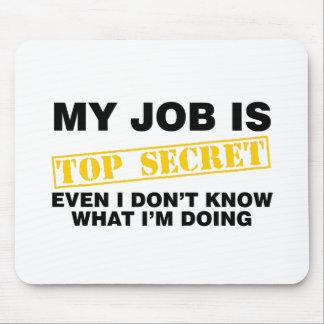 Mitt jobb är bästa - hemligheten musmatta