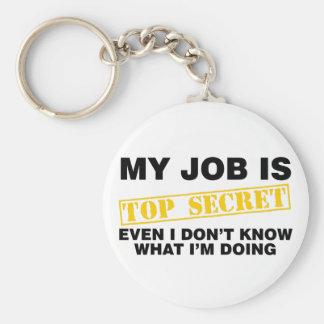 Mitt jobb är bästa - hemligheten rund nyckelring