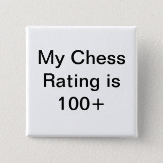 Mitt klassa för schack är över 100 standard kanpp fyrkantig 5.1 cm