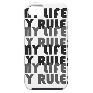 Mitt liv min tuffa iPhoneSE för regler + iPhone iPhone 5 Case-Mate Skydd