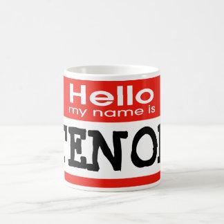 Mitt namn är TENOR Kaffemugg