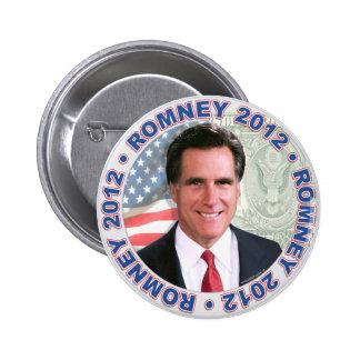 Mitt Romney president 2012 utrustar Standard Knapp Rund 5.7 Cm