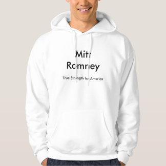 Mitt Romney riktig styrka för Amerika Sweatshirt