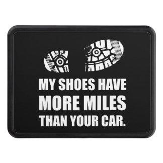Mitt skor mer Miles än bilen Dragkroksskydd