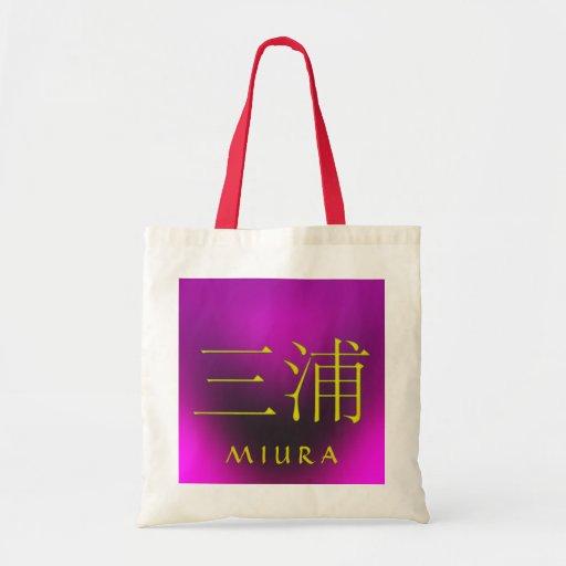 Miura Monogram Tygkassar