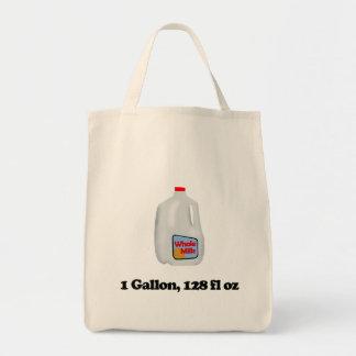 Mjölk 1 gal., 128 FL OZ Mat Tygkasse