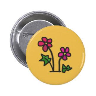 Mjuk blomma standard knapp rund 5.7 cm