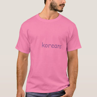 Mjuk Grungekorean T Shirt