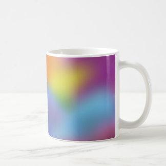 Mjuka färger: kaffemugg