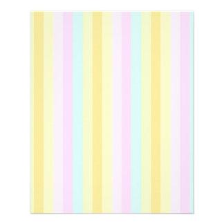 Mjuka pastell för baby  reklamblad 11,5 x 14 cm
