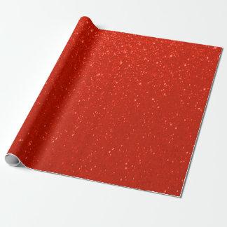 Mjukt djupt - rött glittertryck presentpapper