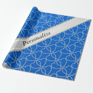 Mjukt namn för mönster | DIY för hjärta för Presentpapper