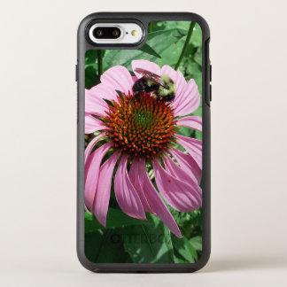 MkFMJ blomma med biet OtterBox Symmetry iPhone 7 Plus Skal
