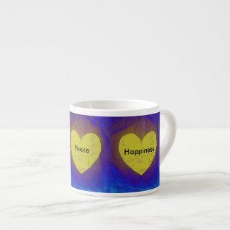 MKFMJ-hjärta Espressomugg