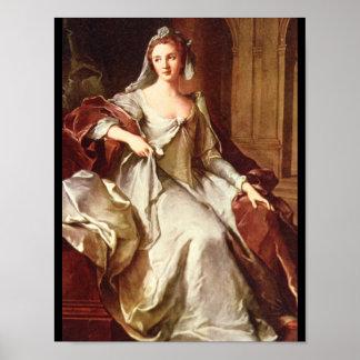 Mme. Henriette de France', Jean Marc_Portraits Poster