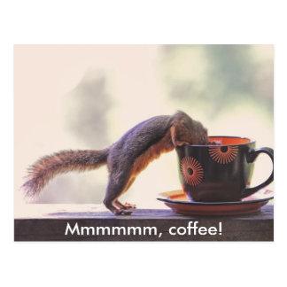 Mmmmmm kaffe! vykort