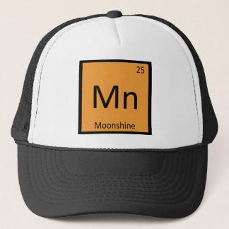 Mn - Symbol för bord för utopierkemi periodiskt Truckerkeps