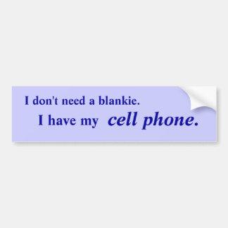 Mobil anhörigbildekal för cell bildekal