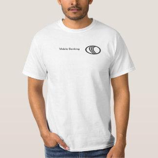 Mobil bankrörelse t-shirts