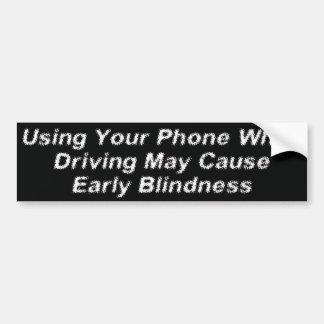 Mobil Blindness Bildekal