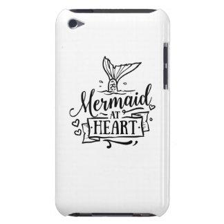 Mobil cases - sjöjungfru på hjärta barely there iPod överdrag