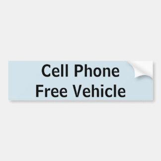 Mobil fri fordonklistermärke för cell bildekal