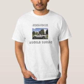 Mobil gunga för Redneck T Shirts