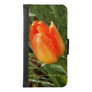 mobil plånbokcases för tulpan samsung galaxy s6 plånboksfodral