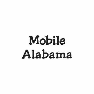 Mobila Alabama broderade Poloskjortan!!! Pikétröjor