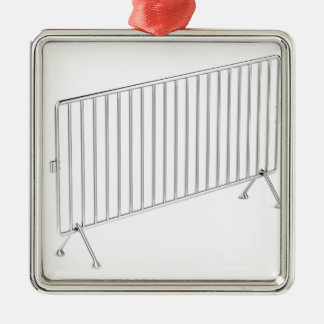 Mobilen stålsätter staket julgransprydnad metall