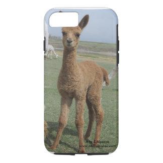 mobilt fodral för alpaca vid kayla