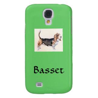 Mobilt fodral för Basset Galaxy S4 Fodral