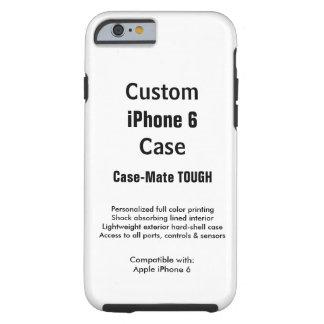 Mobilt fodral för beställnings- tuff för iPhone 6 Tough iPhone 6 Fodral