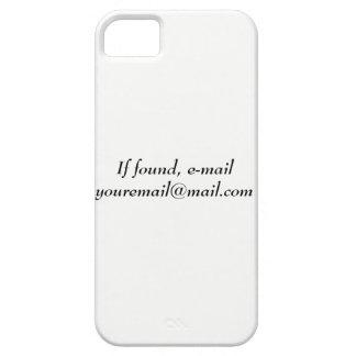 Mobilt fodral för de som förlorar deras telefon iPhone 5 fodral