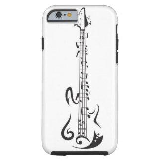 Mobilt fodral för gitarr tough iPhone 6 fodral