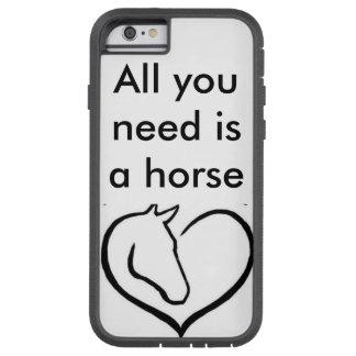 Mobilt fodral för häst för allt folk som lika tough xtreme iPhone 6 fodral