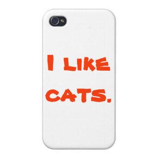 Mobilt fodral för katt iPhone 4 skydd