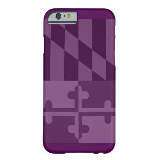 Mobilt fodral för Maryland flagga (lodrät) - Barely There iPhone 6 Fodral