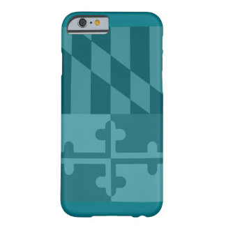 Mobilt fodral för Maryland flagga (lodrät) - Barely There iPhone 6 Skal