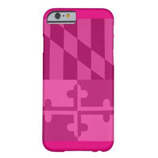 Mobilt fodral för Maryland flagga (lodrät) - shock Barely There iPhone 6 Skal
