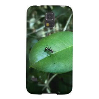 Mobilt fodral för myra & för löv galaxy s5 fodral