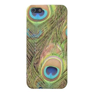 Mobilt fodral för påfågelfjädrar iPhone 5 cases