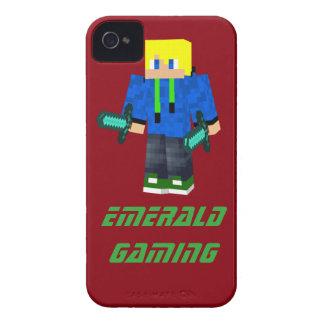 Mobilt fodral för smaragd iPhone 4 case