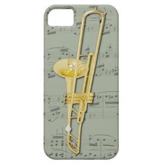 Mobilt fodral för Trombone (ventil). Plockafärg iPhone 5 Fodraler