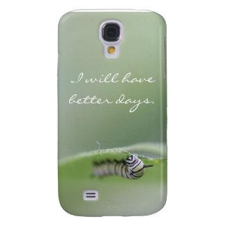 Mobilt fodral - I Will har bättre dagar Caterpilla Galaxy S4 Fodral